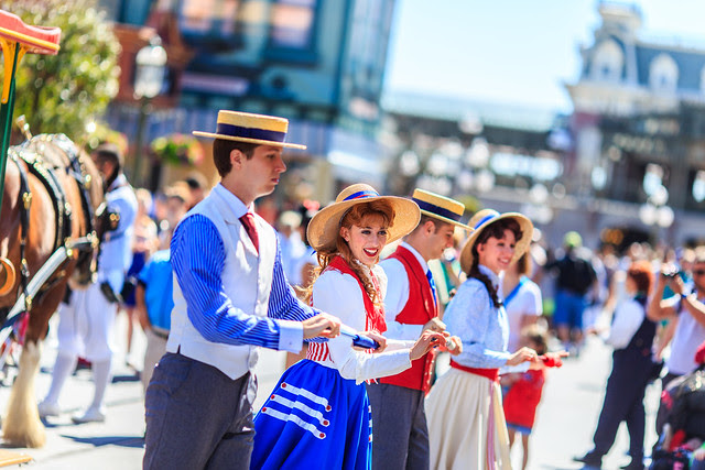 The Main Street Trolley Car Performers