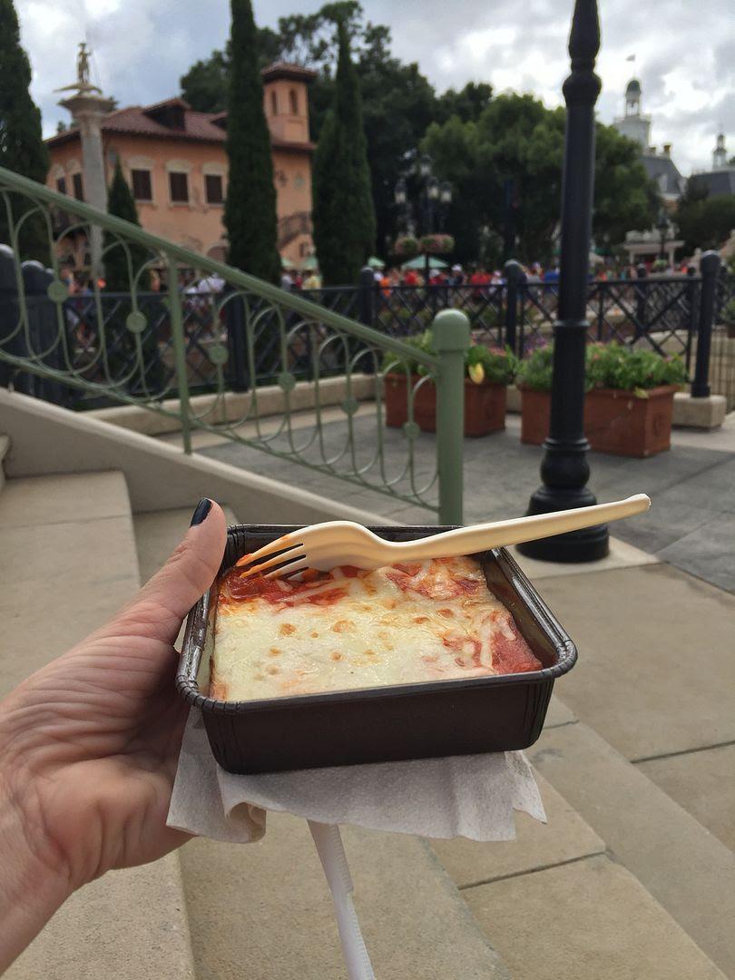 Epcot Food and Wine ravioli alla caprese