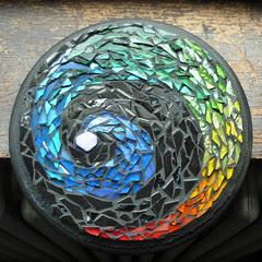 47  277/365  Margaret's 2nd Rainbow Mandala