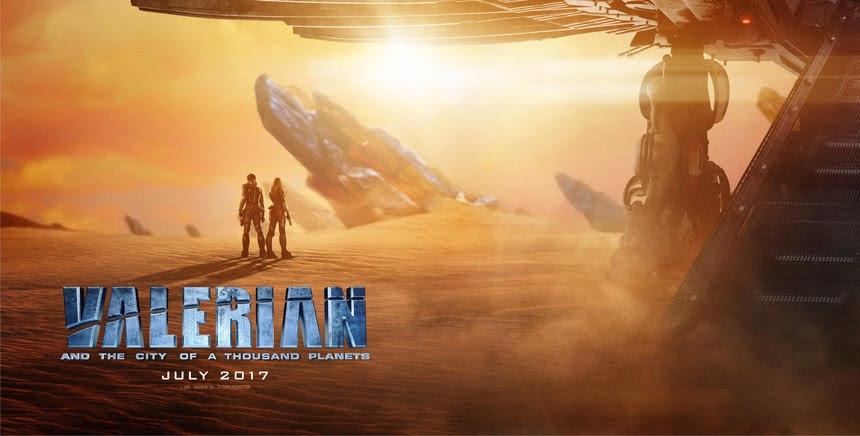 Resultado de imagem para valerian and the city of a thousand planets 2017 posters