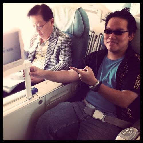 OMG! Business class again! I love you KOREAN AIR!