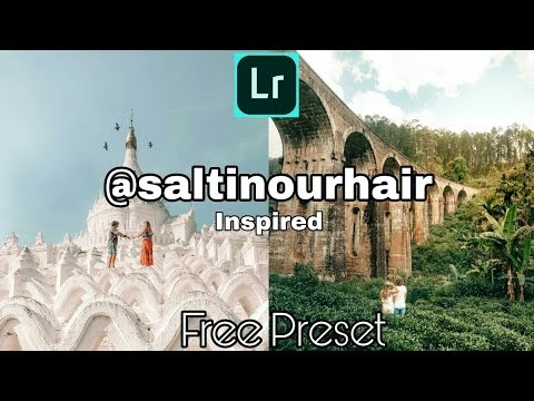 How to Edit Like @saltinourhair l Hannah and Nick Instagram Inspired