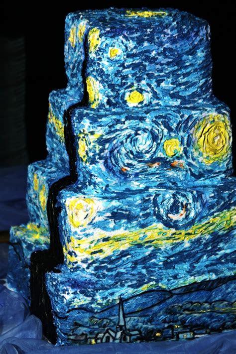 Starry Night Wedding Cake   Wedding: Starry Night   Pinterest