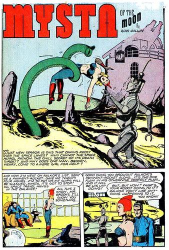 Planet Comics 43 - Mysta (July 1946) 00