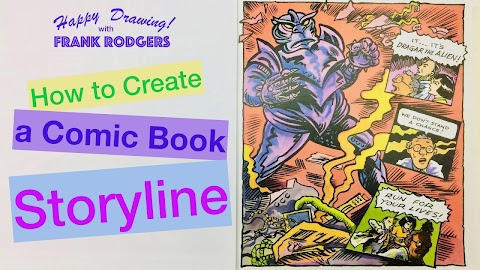 How To Create A Comic Book Storyline