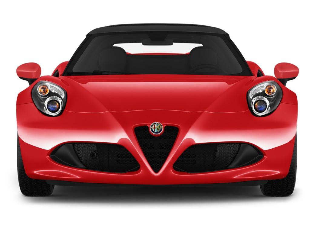 Image: 2016 Alfa Romeo 4C 2-door Convertible Spider Front