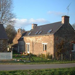 West side of our Brittany Holiday home - sans patio