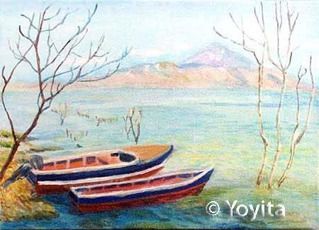 lago de managua  © Yoyita dra. gloria m. sanchez de norris yoyita