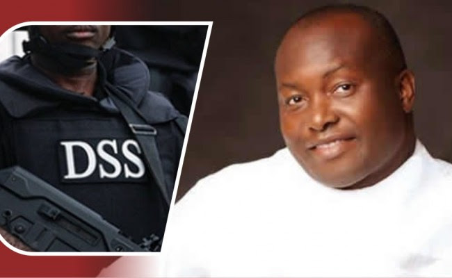 Image result for pictures of Ifeanyi Ubah and DSS