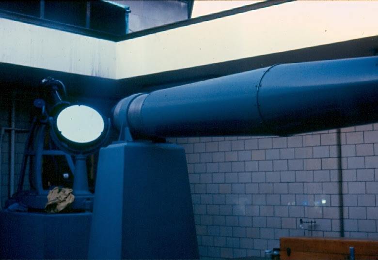 Historic 10-inch Siderostat-type Refractor Telescope at Pittsburgh's original Buhl Planetarium and Institute of Popular Science.