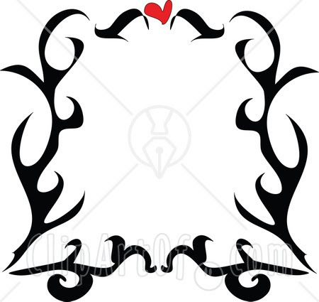 black and white heart tattoos. black and white heart tattoos