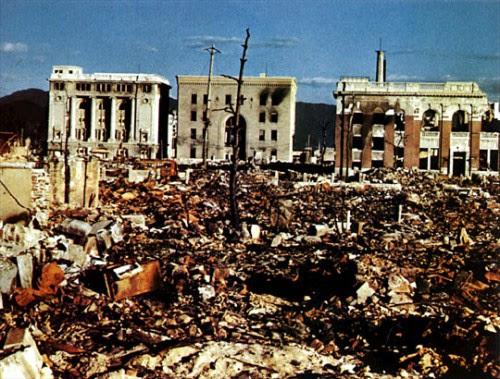 Hiroshima financial district