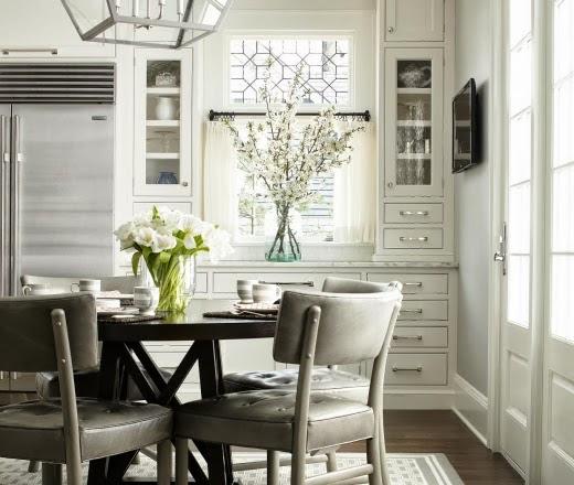 White Contemporary Kitchen By Heidi Piron Design Cabinetry