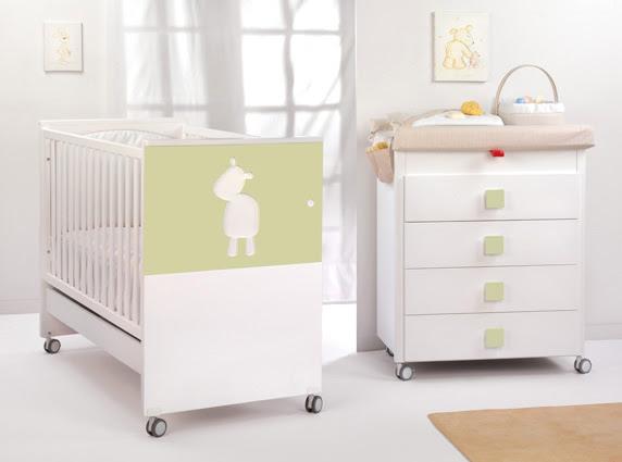 Cuna, diseño, decoracion, dormitorio-infantil