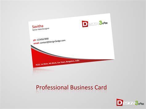 Professional Business Card   Design3edge.com