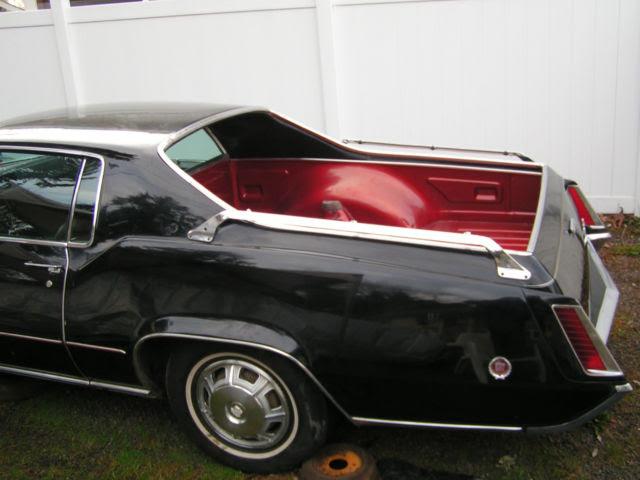 1968 Cadillac Eldorado Mirage Pickup El Camino RANCHERO ...