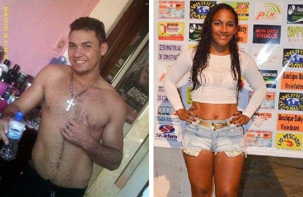 Warley Araújo morreu na hora e Dayane da Silva está internada