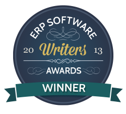 2013 Best ERP Writer - Winner