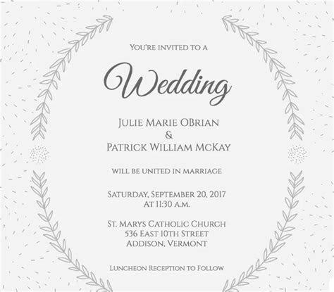 contoh undangan pernikahan lengkap  bahasa inggris