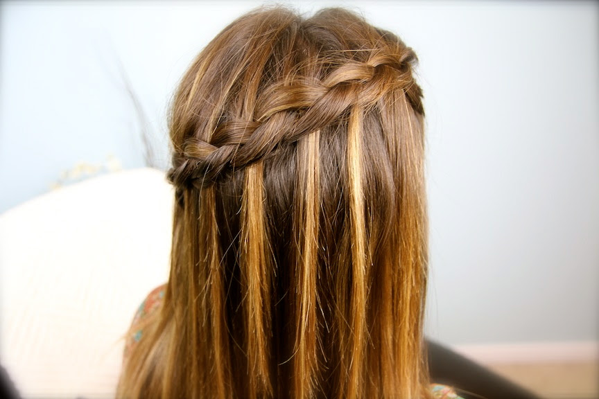 Cut Girls Diy Dutch Waterfall Braid Video