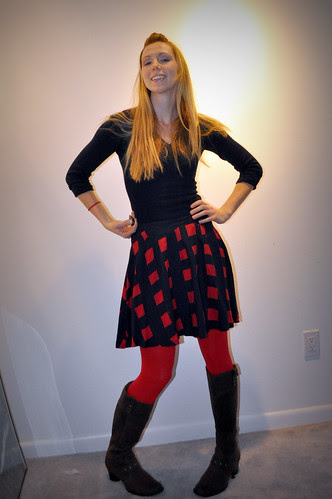 Seeing Red...tights!