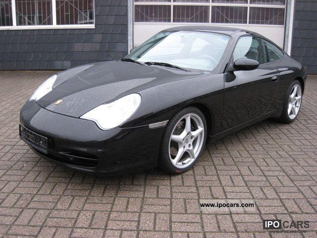 2004 Porsche 911 996 Carrera Coupe Black Navi Sunroof