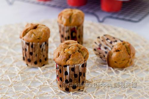 香蕉蘋果鬆餅 Banana Apple Muffins02