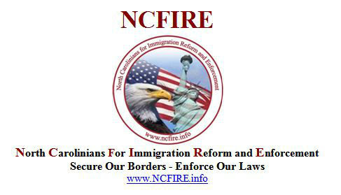 NCFIRE- North Carolinians For Immigration Reform and Enforcement