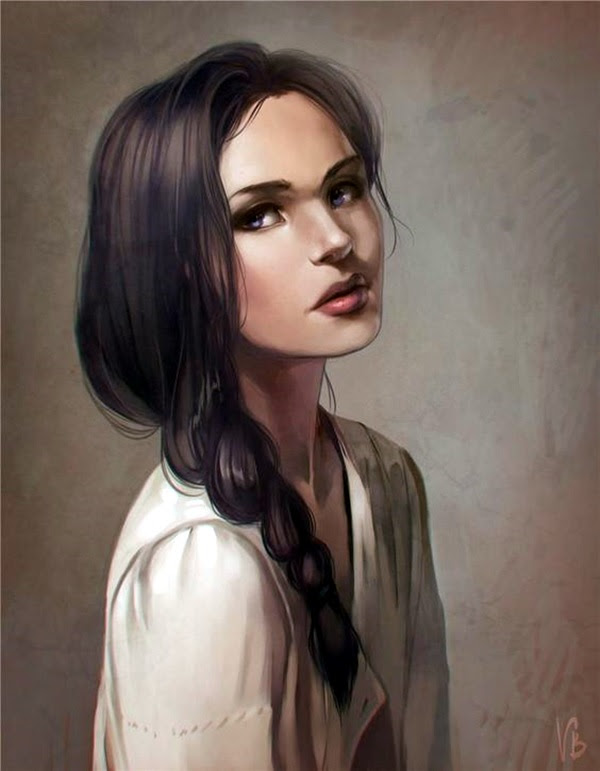 Spectacular Digital Painting Portraits (13)