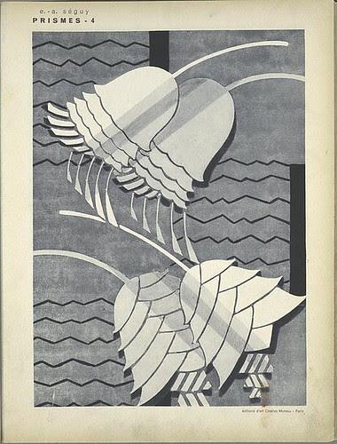 Prismes - EA Séguy (pochoir designs) 1931 d