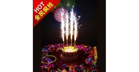 Firework Candle For Birthday Cakes (Sparklers candles