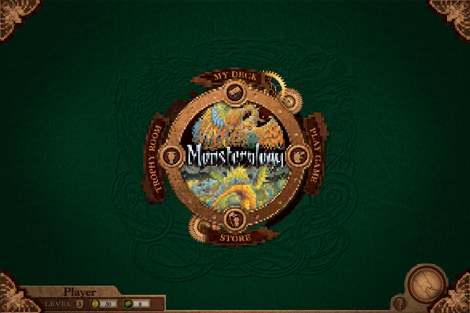 Mosterology by NukoToys iPod Touch title screen
