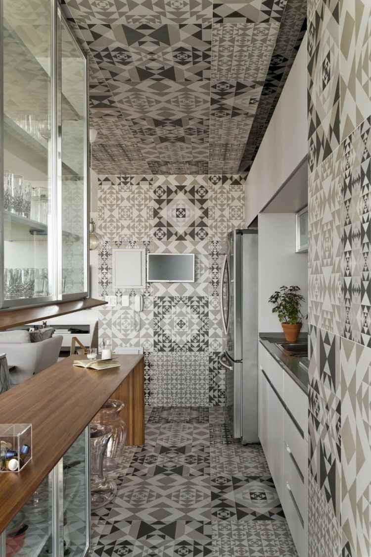 Graue Küche Mit Holz | Next125-musterküche Nx 950 Luxus ...