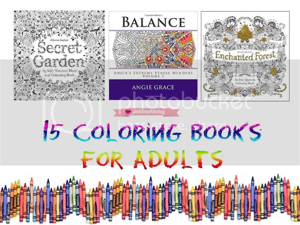 Coloring Books for Adults to Combat Stress