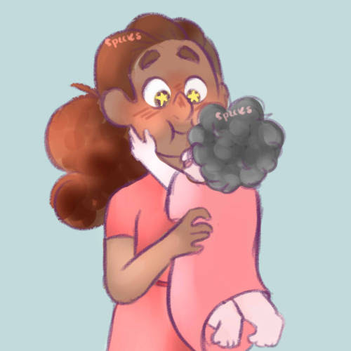 anawinkaro said: Connie with baby Steven :0 (? Answer: squish