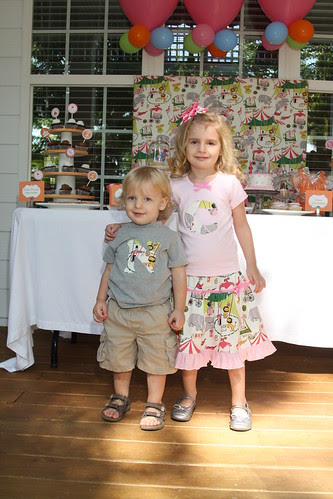 Caroline and Nolan Circus Birthday 236