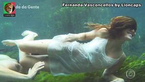 Fernadna Vasconcellos sensual na novela A vida da gente