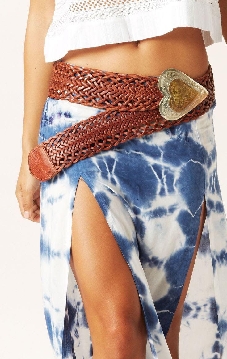 corazon belt // Pamela V. #whatsnew #planetblue