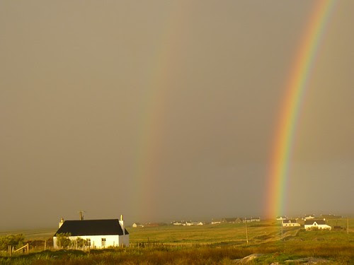 Rainbow over Balemartin