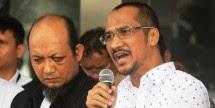 Penyidik KPK Novel Baswedan dan Mantan Ketua KPK    Abraham Samad (Foto Dok Industry.co.id)