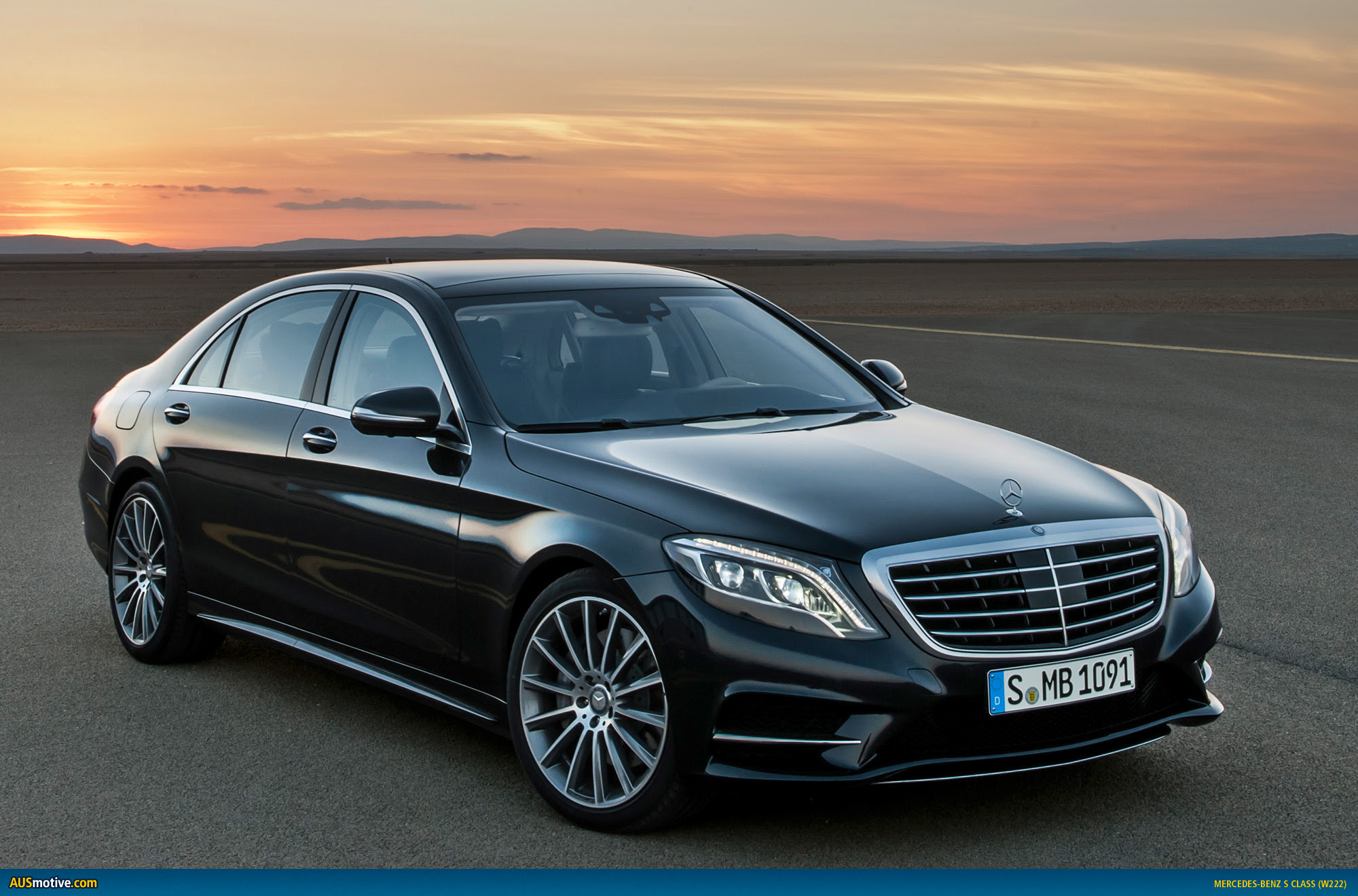 AUSmotive.com \u00bb 2014 MercedesBenz S Class revealed