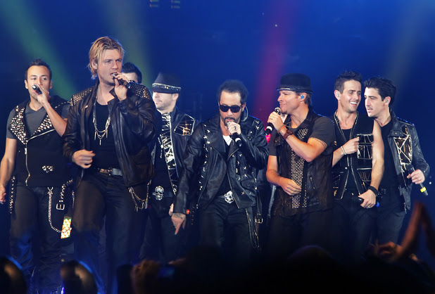 NKOTBSB - New Kids On The Block and The Back Street Boys performing live at Liverpool Echo Arena Liverpool
