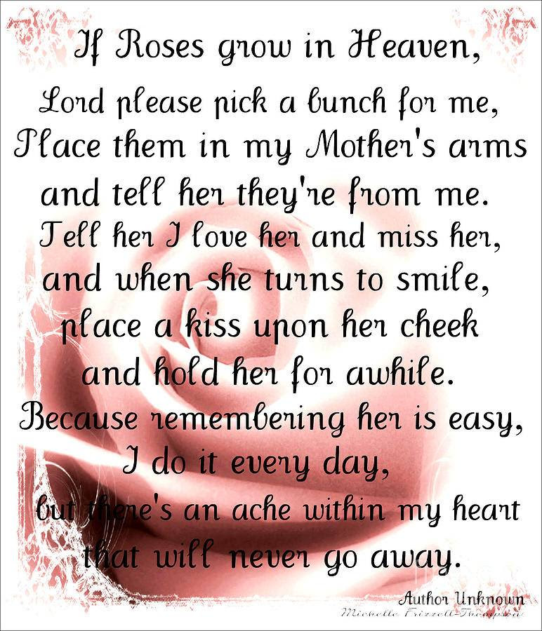 Quotes About Mom In Heaven 21 Quotes