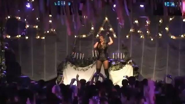 Kelly Key durante show no Rio
