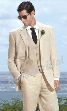 Attending a summer wedding? Light colored suits are very