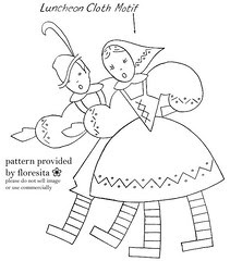 Mailorder 2-915 - Happy Peasants pattern