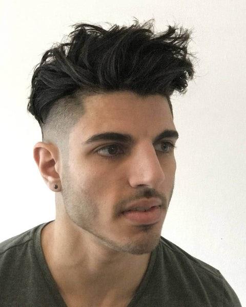 Long And Short Hair Cut Men