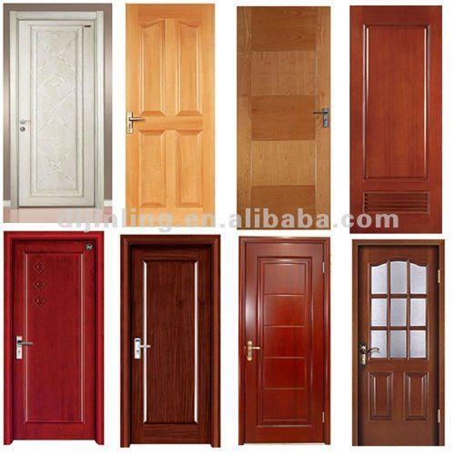 Red Oak Main Door Design Modern Solid Wood Door Design with ...