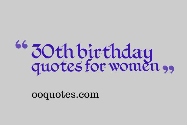 Quotes About 30th Birthday 53 Quotes