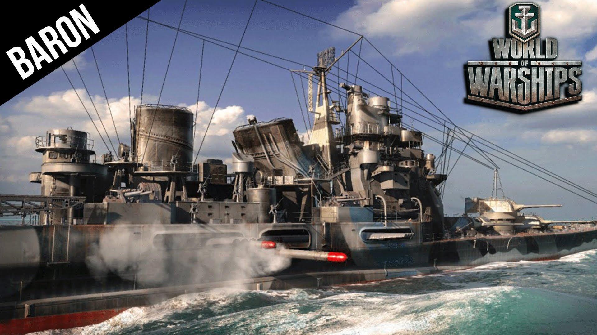 World of Warships - Best Cruiser vs the Iowa Tier 9 Battleship!